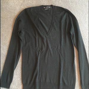 Zara long sleeve v neck sweater